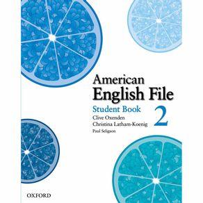 American-English-File-Level-Student-Book-2