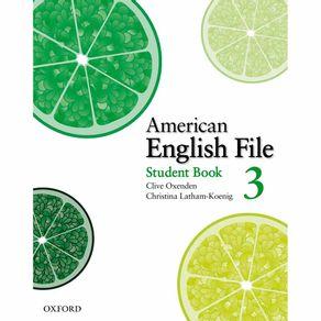 American-English-File-Level-Student-Book-3