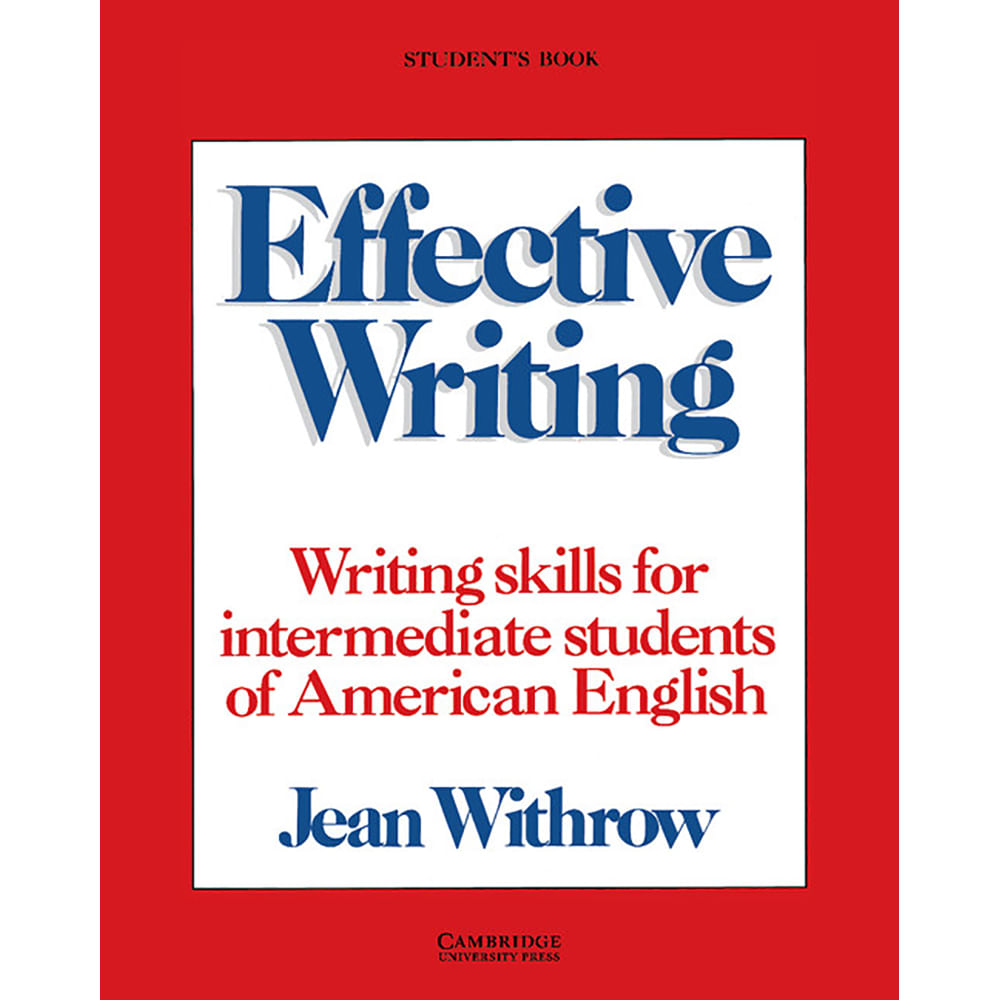 "effective writing skills In his book, style: the art of writing well (cassell), fl lucas offered the following basic principles to ""shorten that painful process"" of learning how to write better."