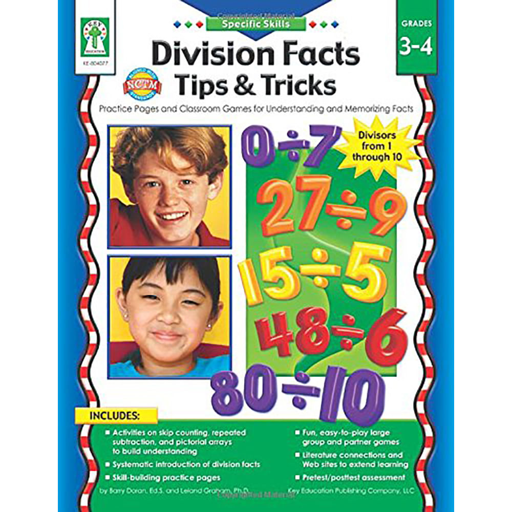 specific skills division facts tips tricks resource book 9781602680692 9781602680692