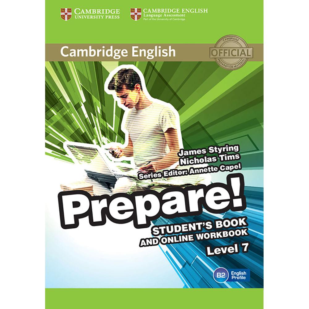 Cambridge English Prepare! Student's Book and Online Workbook 7 ...