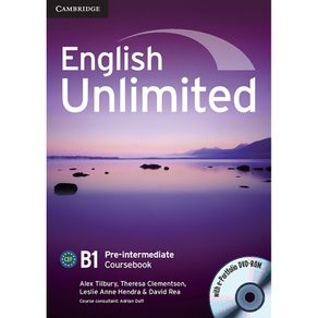English-Unlimited-Coursebook-with-e-Portfolio-Pre-Intermediate