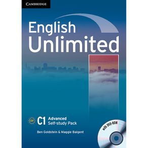 English-Unlimited-Self-Study-Pack--Workbook-with-DVD-ROM--Advanced