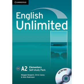 English-Unlimited-Self-Study-Pack--Workbook-with-DVD-ROM--Elementary