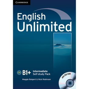 English-Unlimited-Self-Study-Pack--Workbook-with-DVD-ROM--Intermediate