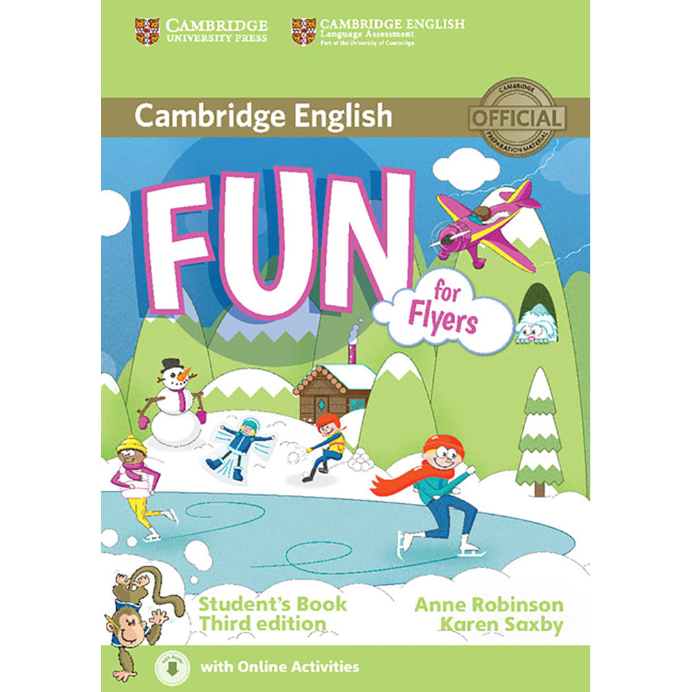 Fun for Flyers 3ed Student's Book with Audio and Online