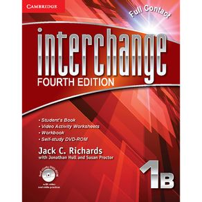 Interchange-4ed-Full-Contact-with-Self-study-DVD-ROM-1B