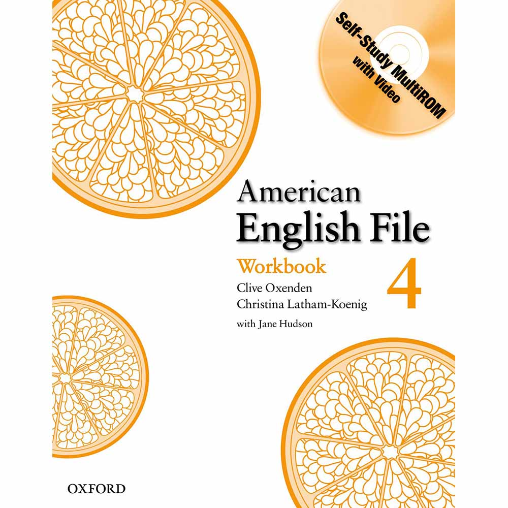 American English File Level Workbook with Multirom Pack 4