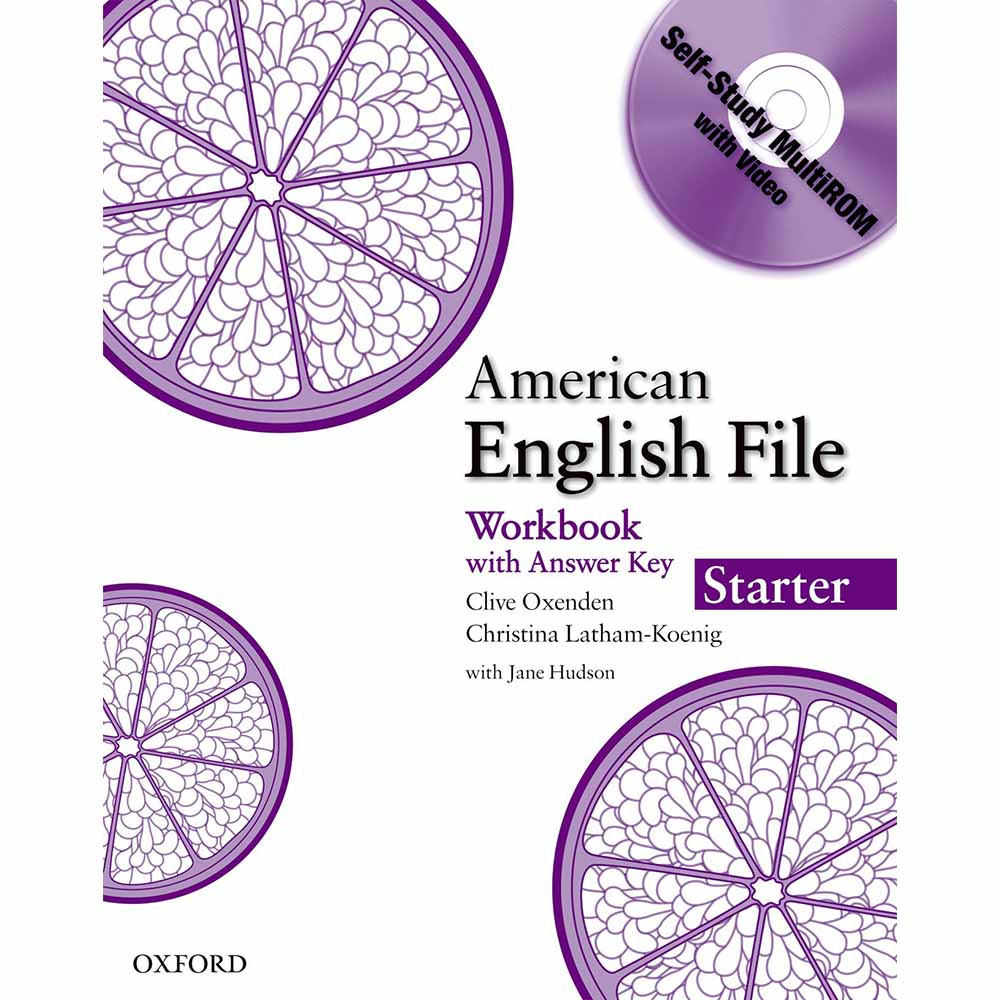 American English File Workbook with CD-Rom Pack Starter