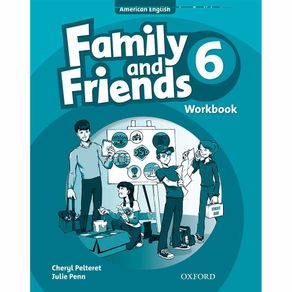 American-Family-and-Friends-Workbook-6