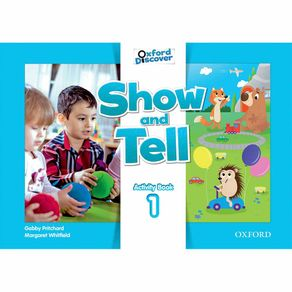 Oxford-Show-and-Tell-Activity-Book-1