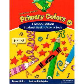 American English Primary Colors Student\'s Book and Activity Book ...