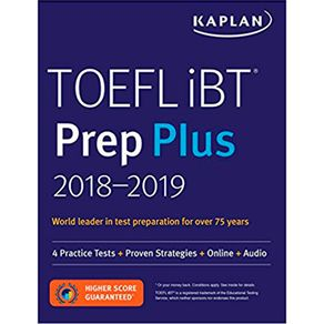 Kaplan Book For Toefl Ibt